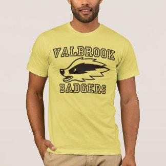 Valbrook Badger Football T-Shirt