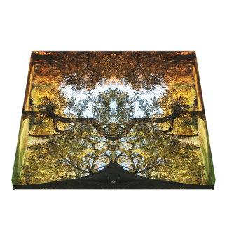 Valcory - Woodland Photograph digitally enhance Canvas Print