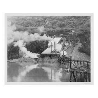 Valdez, Alaska Gold Mining 1916 Poster