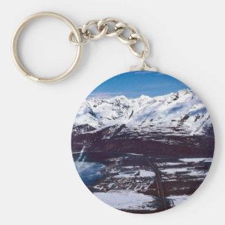 Valdez, Alaska Keychain