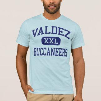 Valdez - Buccaneers - High School - Valdez Alaska T-Shirt