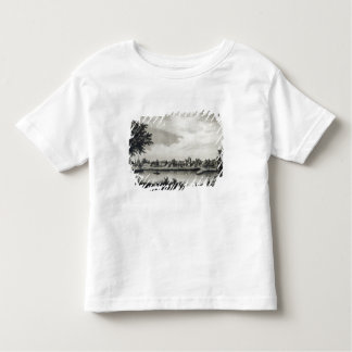 Valdivia, from 'The History of Chile'engraved Tshirts