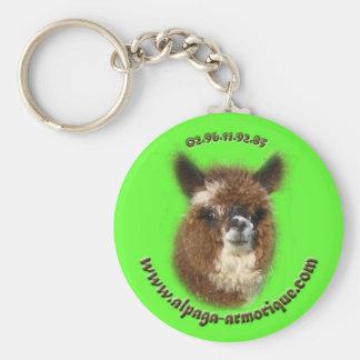valdivia the alpaca keychain