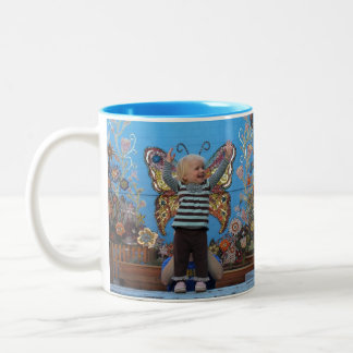 Valencia and Violet Butterfly Mug