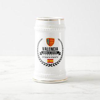 Valencia Beer Stein