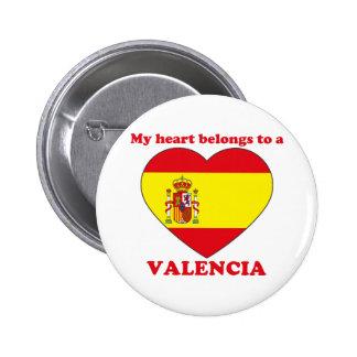 Valencia 2 Inch Round Button