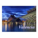 Valencia by Night Postcard