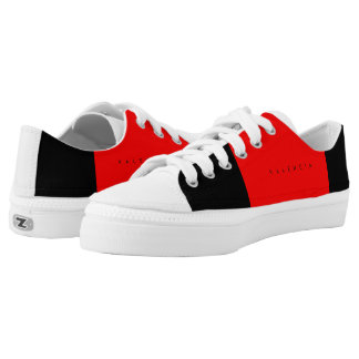 Valencia Canvas Runner W/R/B Low-Top Sneakers