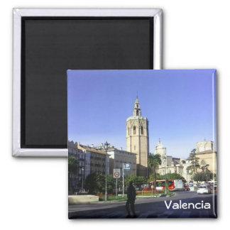 Valencia - Catedral Square Magnet