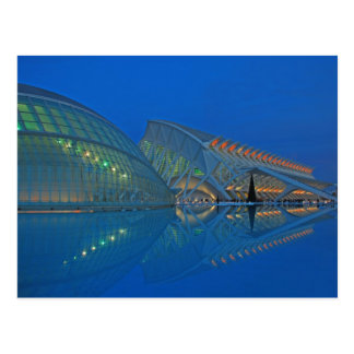 Valencia - City of the Arts and Sciences Postcard