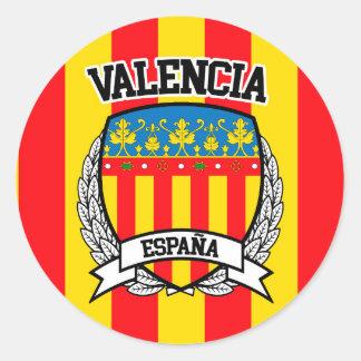 Valencia Classic Round Sticker