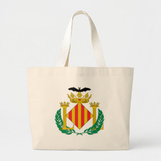 Valencia Coat Of Arms Large Tote Bag