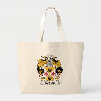 Valencia Family Crest Jumbo Tote Bag