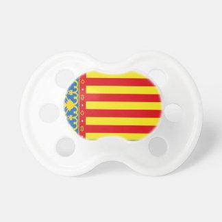 Valencia Flag Pacifier