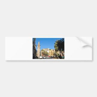 Valencia in Catalunia, Spain Bumper Sticker