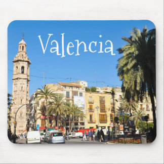 Valencia in Catalunia, Spain Mouse Pad