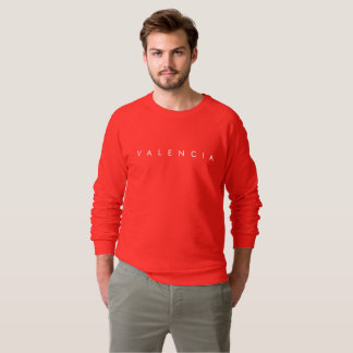 Valencia Men's Red Pullover