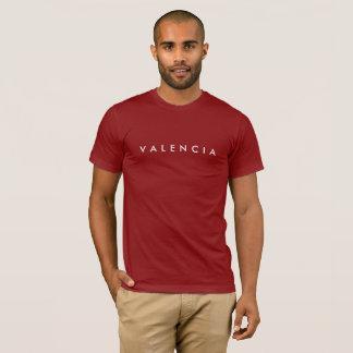 Valencia Men's Tee Wine Red