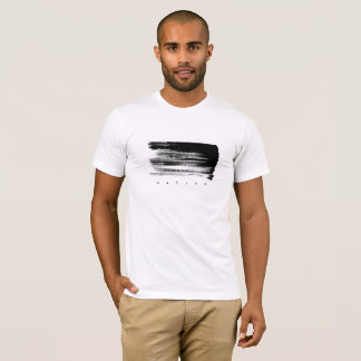 Valencia Nation Men's White Tee