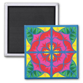 Valencia Rose Tile Magnet