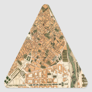 Valencia Spain 1904 Triangle Sticker