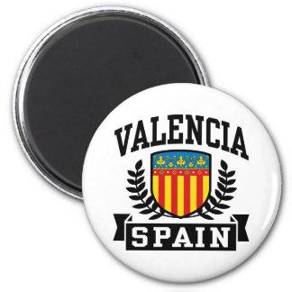 Valencia Spain 2 Inch Round Magnet