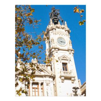 Valencia, Spain Letterhead Design