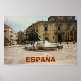 Valencia Spain Poster