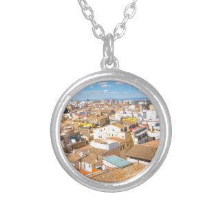 Valencia, Spain Silver Plated Necklace