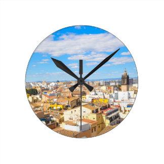Valencia, Spain Wall Clocks