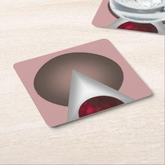 Valencia Square Paper Coaster