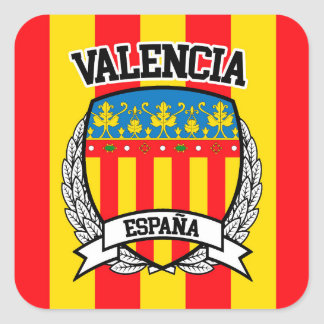 Valencia Square Sticker