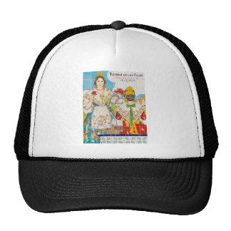Valencia tile trucker hat