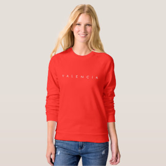 Valencia Women's Pullover Red