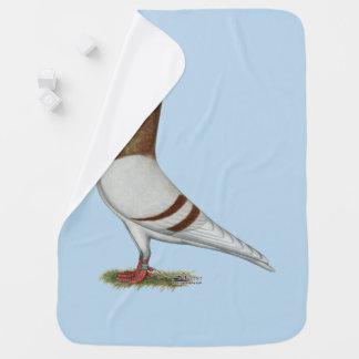 Valencian Figurita Pigeon Baby Blanket