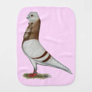 Valencian Figurita Pigeon Burp Cloth