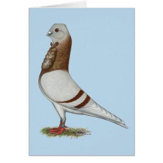 Valencian Figurita Pigeon Card