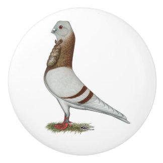 Valencian Figurita Pigeon Ceramic Knob