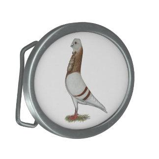 Valencian Figurita Pigeon Oval Belt Buckles