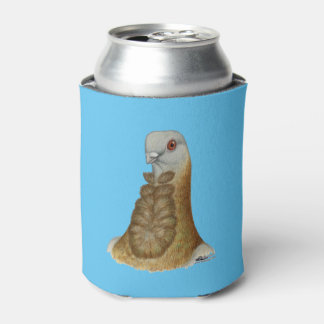 Valencian Figurita Pigeon Portrait Can Cooler