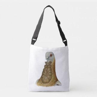 Valencian Figurita Pigeon Portrait Crossbody Bag