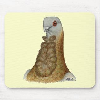 Valencian Figurita Pigeon Portrait Mouse Pad