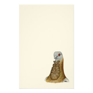 Valencian Figurita Pigeon Portrait Stationery