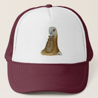 Valencian Figurita Pigeon Portrait Trucker Hat