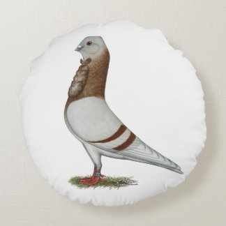 Valencian Figurita Pigeon Round Pillow