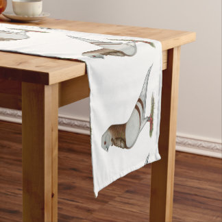 Valencian Figurita Pigeon Short Table Runner