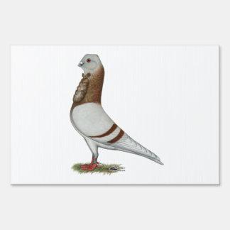 Valencian Figurita Pigeon Sign