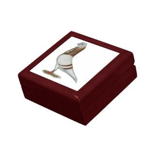 Valencian Figurita Pigeon Trinket Box