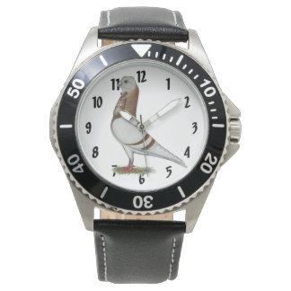 Valencian Figurita Pigeon Watch