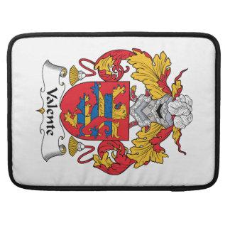 Valente Family Crest Sleeves For MacBooks